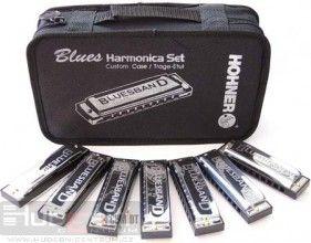 Hohner Blues Harmonicas Starter Set