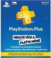 Sony předplatné Playstation Plus Card 90 dnů