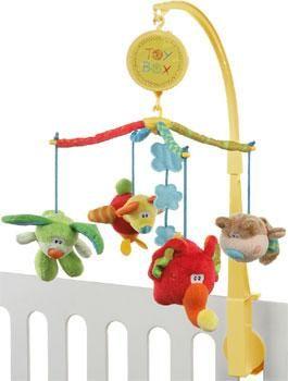 Playgro Toy Box Kolotoč nad postýlku cena od 719 Kč