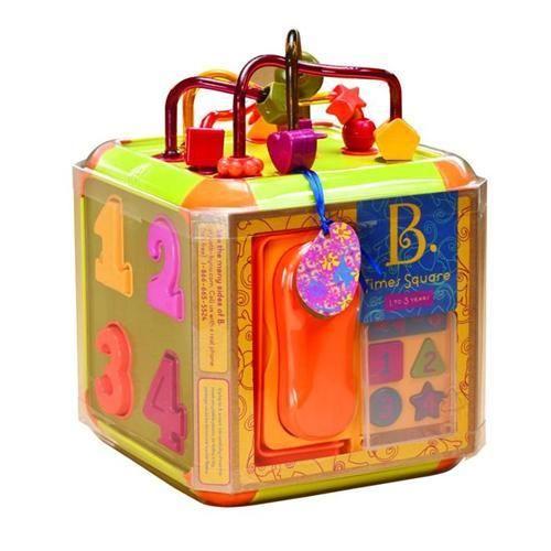 B.toys Interaktivní krychle Times Square cena od 780 Kč