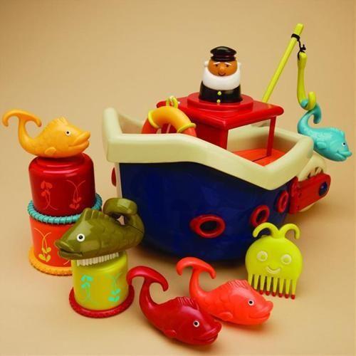 B.toys Loď s kapitánem Fish & Splish cena od 769 Kč