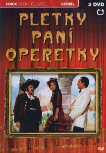 DVD Pletky paní operetky - 3 DVD + 2 CD