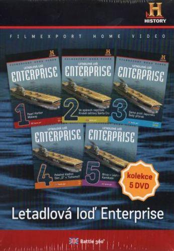 Set - Letadlová loď Enterprise 1.- 5.