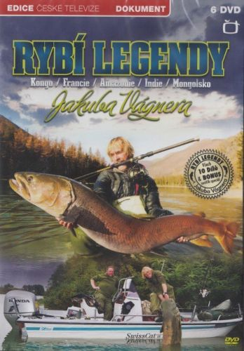 Rybí legendy Jakuba Vágnera DVD