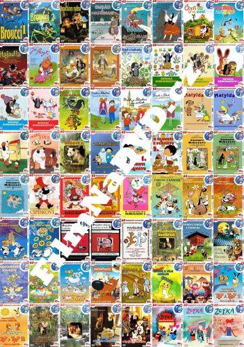 Kolekce 60 Nejlepších večerníčků DVD