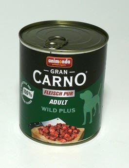 Animonda GRANCARNO ADULT hovězí zvěřina 800 g
