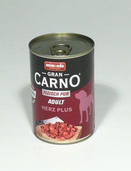 Animonda GRANCARNO ADULT hovězí srdce 400 g cena od 32 Kč