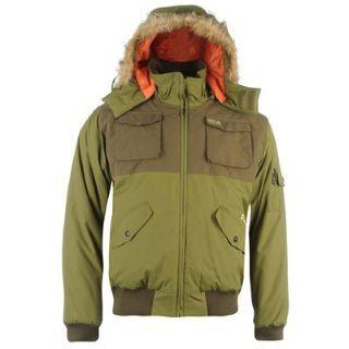 Airwalk Fur Hood Bomber bunda
