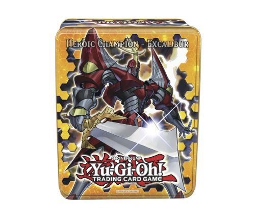 KONAMI Heroic Champion Excalibur Collectible Tin