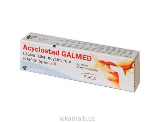 Acyclostad Galmed krém 250 mg cena od 95 Kč