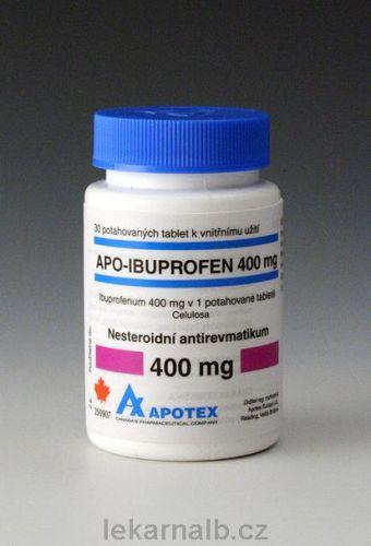 Apo-Ibuprofen 400 mg 30 tablet cena od 38 Kč