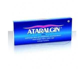 Ataralgin 20 tablet cena od 55 Kč