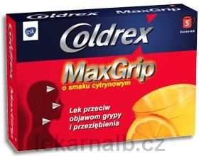 XXL obrazek Coldrex Maxgrip Citron 5 ks