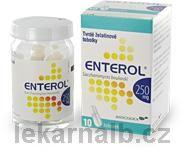 ENTEROL 250 mg 10 Tobolek cena od 104 Kč