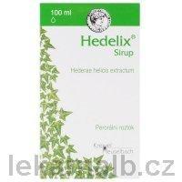 Hedelix sirup 100 ml cena od 98 Kč