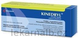 KINEDRYL 10 Tablet cena od 75 Kč