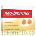 Neo-Bronchol 15 mg 20 pastilek cena od 95 Kč
