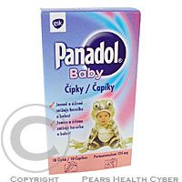 Panadol Baby 125 mg 10 čípků cena od 40 Kč