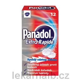 Panadol Extra Rapide 12 tablet cena od 51 Kč