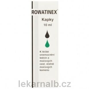 ROWATINEX kapky 10 ml cena od 137 Kč