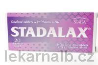STADALAX 5 mg 20 tablet cena od 36 Kč