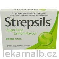 STREPSILS Citron bez cukru 16 pastilek cena od 0 Kč