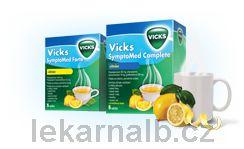 Vicks SymptoMed complete citrón 10 sáčků cena od 113 Kč