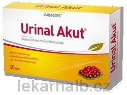 Urinal Akut 10 tablet cena od 225 Kč