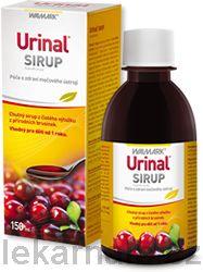 Urinal Sirup 150 ml cena od 227 Kč