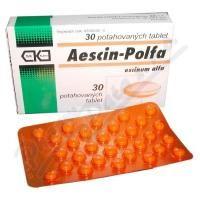 AESCIN 20 mg 30 tablet cena od 79 Kč
