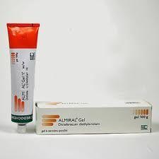 ALMIRAL gel 50 g cena od 74 Kč