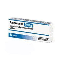 AMBROBENE 30 mg 20 tablet cena od 45 Kč