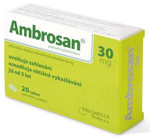 AMBROSAN 30 mg 20 tablet cena od 59 Kč