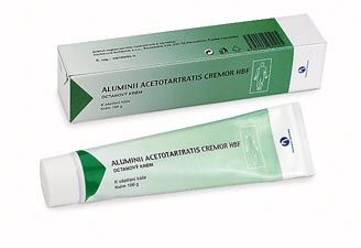 ALUMINII ACETOTARTRATIS krém 100 g cena od 65 Kč