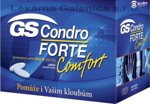 GS CONDRO forte Comfort 60 tablet cena od 367 Kč