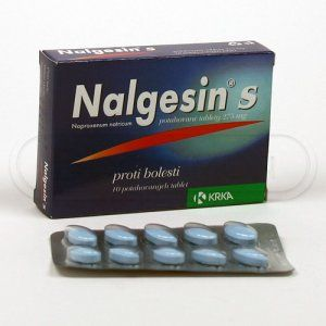 XXL obrazek Nalgesin S 275 mg 10 tablet