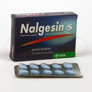 Nalgesin S 275 mg 10 tablet cena od 55 Kč