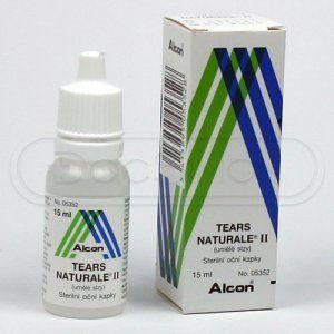 Tears Naturale II kapky15 ml cena od 121 Kč
