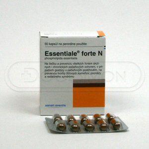 Essentiale Forte N 50 kapslí cena od 187 Kč