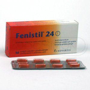 Fenistil 24 4 mg 10 tablet cena od 112 Kč