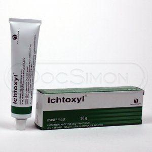 Ichtoxyl mast 30 g cena od 35 Kč