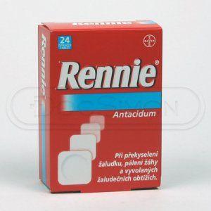 RENNIE 24 tablet cena od 58 Kč
