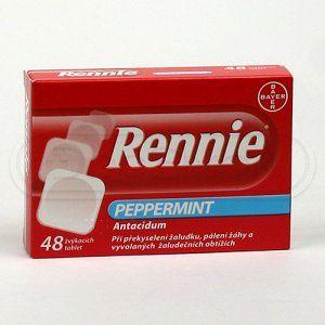 Rennie 48 tablet cena od 92 Kč