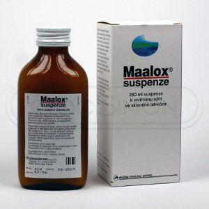 Maalox suspenze 250 ml cena od 63 Kč