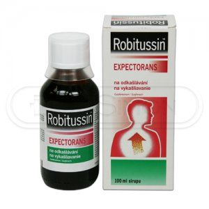 ROBITUSSIN EXPECTORANS sirup 100 ml