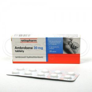 Ambrobene 30 mg 20 tablet cena od 56 Kč