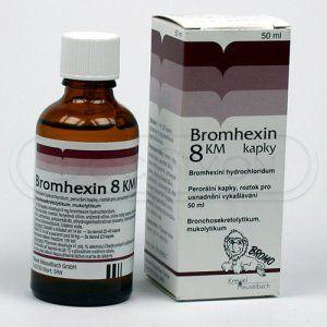BROMHEXIN 8 KM kapky 50 ml cena od 69 Kč