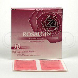 ROSALGIN vaginální roztok 0,5 g 10 sáčků cena od 230 Kč