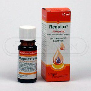 Regulax Pikosulfat kapky 75 mg 10 ml cena od 38 Kč