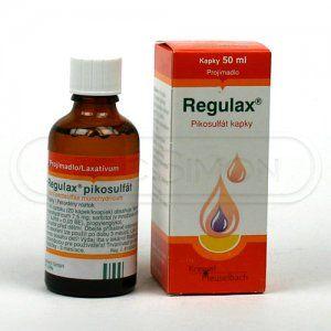 Regulax Pikosulfat kapky 375 mg 50 ml cena od 96 Kč